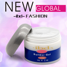 1Pc Acrylic Nail Art UV Gel Nail Saloon Profesional Nail Art IBD Builder Gel 2oz / 56g Glue Modelling Extension Product