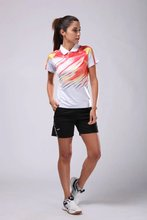 women badminton shirts lady table tennis shirts girls ping-pong ball tops adult quick dry sportswear women sports running tops