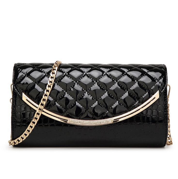 Crocodile clutch fashion women shoulder bag classic diamond lattice bag Intensive High-grade leather women messenger bag h32<br><br>Aliexpress