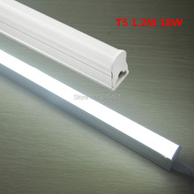 30PCS X T5 1200mm 1.2m Integrated 18W 4ft Led Tube Lights SMD2835 LED Fluorescent Light Warm/Natural White AC85-265V Tube Leds(China)