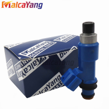 "Flow test 4PCS 16611AA720 fuel injector 550CC ""Navy blue"" for Subaru Forester Impreza WRX 2.5L H4 fuel injector 16611-AA720"