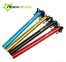 ROCKBROS Bicycle Seatpost Bike Cycling Cycle Seatpost MTB Road Bike Alloy 6061T6 CNC Seatpost Seat Post 27.2-33.9mm 350-580mm