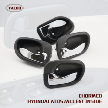 4PCS A CAR SET INTERIOR DOOR HANDLE FOR HYUNDAI ATOS 01 / ATOS PRIME 01- / VISTO 01-(China)