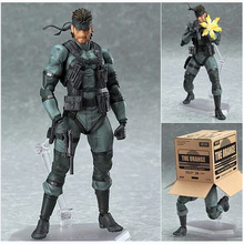15cm Figma 243 game metal gear gift ornaments Snake surrounding the snake TERT super movable Boxed