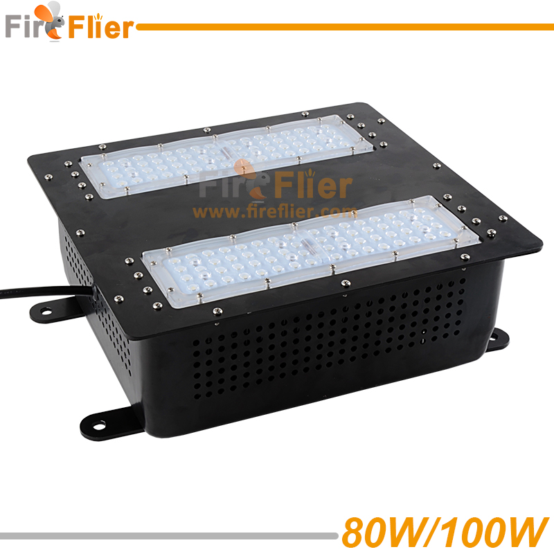 surface mounted led canopy light 80w