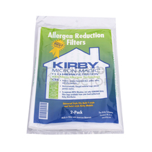 KIRBY VACUUM BAGS: 6 Sentria UNIVERSAL ~ F Style MICRON MAGIC Hepa White Cloth