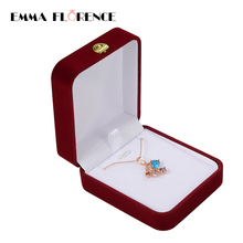 2 Size Quality Cotton Flannel Jewelry Display Case And Packaging For Bracelet/Necklace/Bangle Gift Boxes Casket for Decorations(China)
