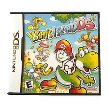 Nintendo NDS Game Yoshi's Island DS Video Game Cartridge Console Card US English Language Version