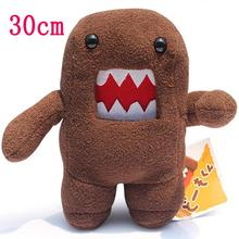 30cm Kawaii Standing Domo Kun Plush Stuffed Toy Domokun Funny Domo Kun Doll Creative Gift Domo Kun Plush Toys for Kids Boy Party