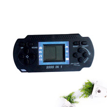 Gaming Player Handheld Tetris Electronic Game Machine Console Kids Children Boy Black Portable Toy