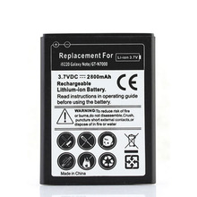 High Quality 2800mah Phone Replacement Bateria For Samsung Galaxy Note i9220 Phone Battery GT-N7000 N7000 Rechargeable Batteries(China)