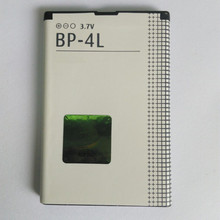 5Pcs/ Lot BP-4L Battery BP4L For Nokia E71 E71x E55 E61i E63 E52 E90 Communicator N810 internet tablet  wimax edition 1250mah