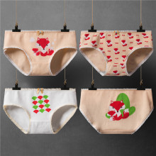 Buy Panties Women Cotton Underwear Girl Briefs Cartoon Fox Print Underpants Ladies Sexy Lingerie Woman Intimate Female Panty