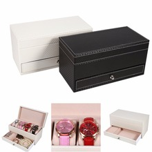 Jewelry Box Case Ring Earring Trinket Storage Organizer Gift Container Storage Cabinets With Drawers