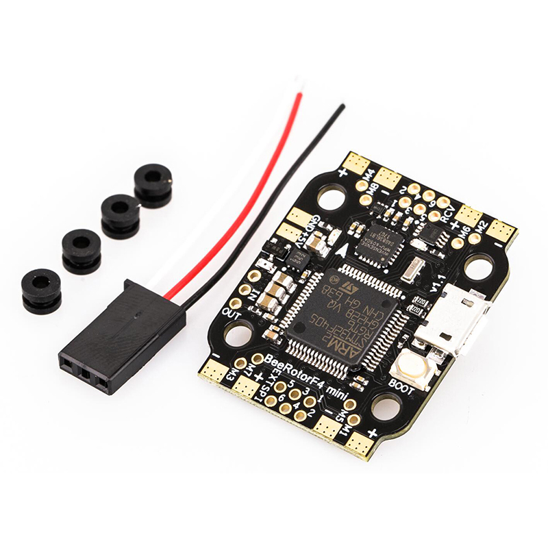 BeeRotor Mini F4 Flight Controller Board W/ BFOSD F4 Flight Control Built-in PDB BEC for FPV Racing Quadcopter RC Frame Drone<br>