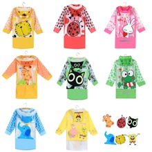 Student Raincoat Baby Children Cartoon Kids Girls boy rainproof Rain Coat Waterproof Poncho Rainwear Waterproof Rainsuit YY234-1