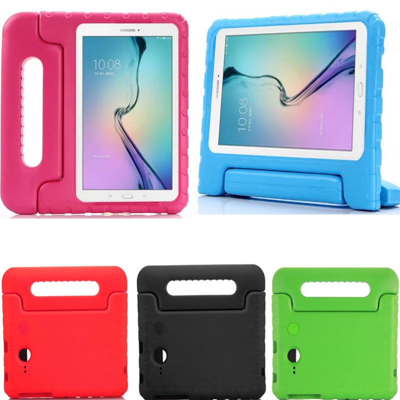 For 7 Samsung Galaxy Tab E 7.0 / Tab 3 Lite T110 T113 Kids EVA foam drop resistance protective stand holder back Cover Case<br><br>Aliexpress