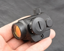 Micro mini 1x20 Red dot sight scope picatinny weaver rail munt base All aluminum alloy CNC hunting shooting RBO M3796(China)