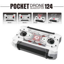 2017 New RC Drone Pocket Drone 4CH 6 Axis Gyro Quadcopter RTF RC Helicopter Toys FQ777-124 FQ777 124 Drones Dron Kids Xmas Gifts