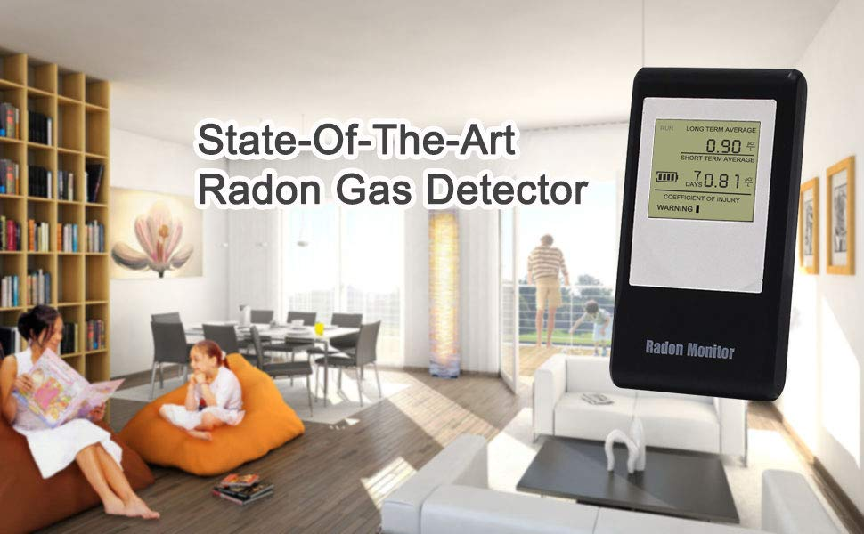 STATE OF THE ART RADON GAS DETECTOR