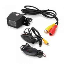 Hotsale new Hot Now! 120 Degree 9 LED Car Reversing Rearview Backup Camera + Wireless Transmitter Receiver