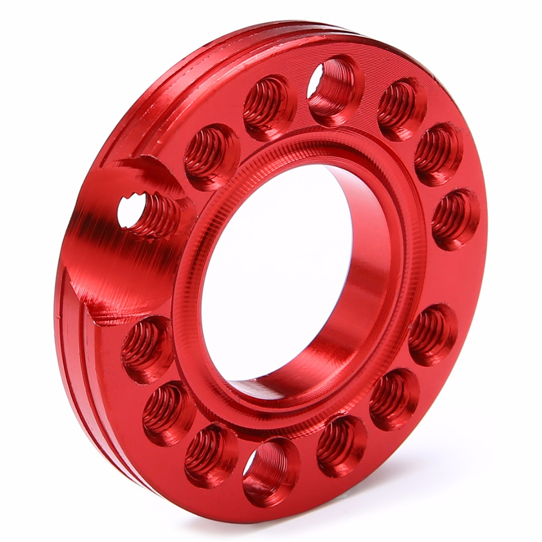 28mm 90 110 125cc ATV Pit Dirt Bike Carburetor Inlet Manifold Adjuster Spinner Plate Aluminum Alloy Random Color