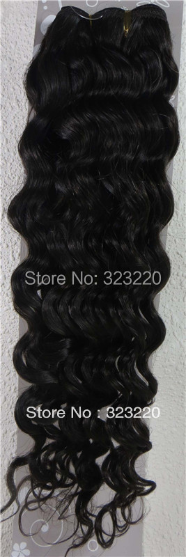 Wholesale 18-26 Womens Remy Human Hair Weft Weaving Extensions Deep Curly 100g Darkest Brown #2<br><br>Aliexpress