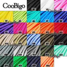 1pcs 10FT 20Ft 50Ft 100Ft Paracord 550 Parachute Rope 7 Core Strand Climbing Camping Buckle Bracelet 54 Colors Pick #S0021-A/B(China)