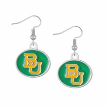 Skyrim zinc alloy enamel Baylor University Bears womens fashions earrings(China)