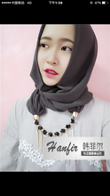 12pcs/bag Hot sale stylish Necklace Chiffon Scarf monochrome muslim hijab *exclude underscarf (can Choose Colors)(China)