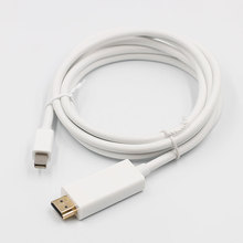 New Thunderbolt Display Mini DP to HDMI Cable Male to Male Adapter for Macbook Pro Air Projector Camera TV(China)