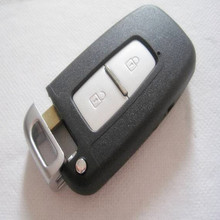 Keyless Entry 2 Buttons Smart Card Remote Key Case Shell For Kia K5 k2 Sportage FORTE with key blade