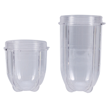 1pc Tall & Short Cup Mug Replacement Parts for 250W Magic Bullet Blender Juicer Transparent(China)