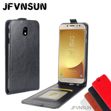 Buy Samsung Galaxy J5 2017 J7 2017 Case SAMSUNG J5 2017 J7 Pro J730 J530 Cover NEW Retro Leather Magnetic Vertical Phone Bag for $4.20 in AliExpress store