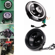 "7"" Round Headlight Led For Jeep Wrangler 97-15 Hummer Toyota Defender 7"" LED Harley Motorcycle Headlamp"