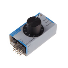 Mini 3-channel Servo Tester Servo Consistency Master Tester for Helicopter Airplane Car RC Tools