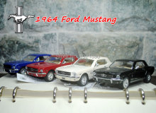 (5pcs/pack) Wholesale Brand New KT 1/36 Scale USA 1964 Ford MUSTANG Diecast Metal Pull Back Car Model Toy