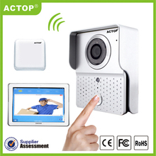 WiFi-601+DB-601-RFA Direct Factory The Camera with 6 Infrared Night Vision, Automation Intercom System Internet Doorbell Video(China)