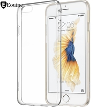 Ultra Thin Soft TPU Gel Transparent Crystal Clear Silicon Cover for iPhone 4 4S 5 5S SE 5C 6 6S 7 Plus Case fundas coque
