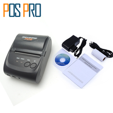 IMP006 Thai Printing Mobile Mini Portable Thermal Receipt Printer Handheld Pos Printer Bluetooth 4.0 for android iOS(China)