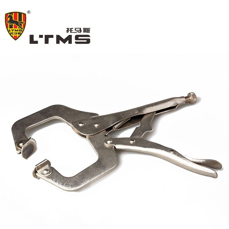 C Type Clamp Adjustable Pliers 11 Metal Welding Pliers Grip Locking Pliers Instruments Vise Grip Pliers Hand Tools<br>