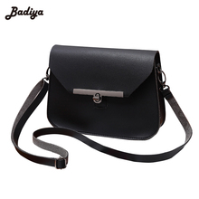 New 2017 Mini Handbag Solid Crossbody Shoulder Bag with Strap Removable Lock Charms Bag Ladies Fashion Women Bags Designer Purse