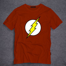 The Flash T-shirts Mens Casual 100% Cotton Short Sleeve Tops Clothing Printing Male O Neck T Shirts S-5XL