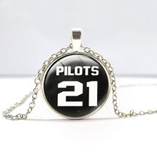 Twenty One Pilots Music Band Necklace Fashion Jewelry Twenty One Pilots Fans Pendant Chain Man Womens Steampunk Necklace Charm