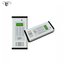 GSM Intercom Access Control System Remote Controller Door Operater Free Change Call SMS Alarm K6 Apartment Open LCD Display