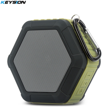KEYSION Mini Outdoor Portable Speaker Wireless Bluetooth Speaker IPX7 Waterproof stereo sound with Microphone TF card slot(China)
