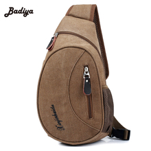 Fashion Equipment Large Capacity Women's Messenger Bags Chest Bags Canvas Man Messenger Bags(China)