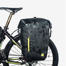 Buy Rhinowalk 25L Cycling Bike Bags MTB Bike Rear Rack Bag Full Waterproof Multifunction Road Bicycle Pannier Rear Seat Trunk Bag for $54.50 in AliExpress store