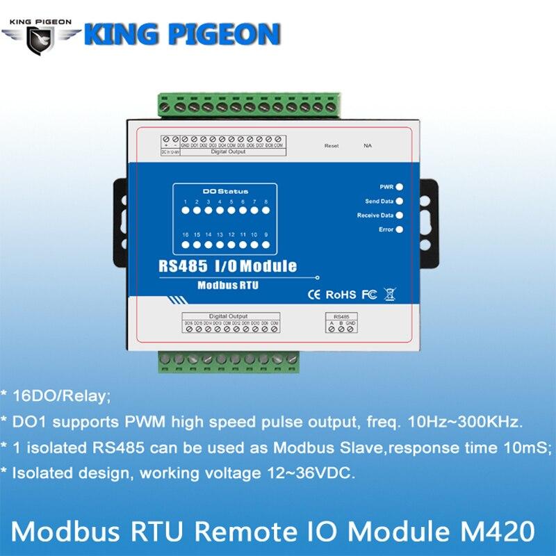 Modbus RTU Remote IO Module M420