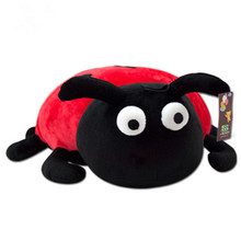 25/35cm Little ladybug stuffed plush toys household ornaments baby gift company small doll wedding gift ideas shipping HH12